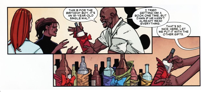 Wolverine's Birthday Party - Sans Wolverine